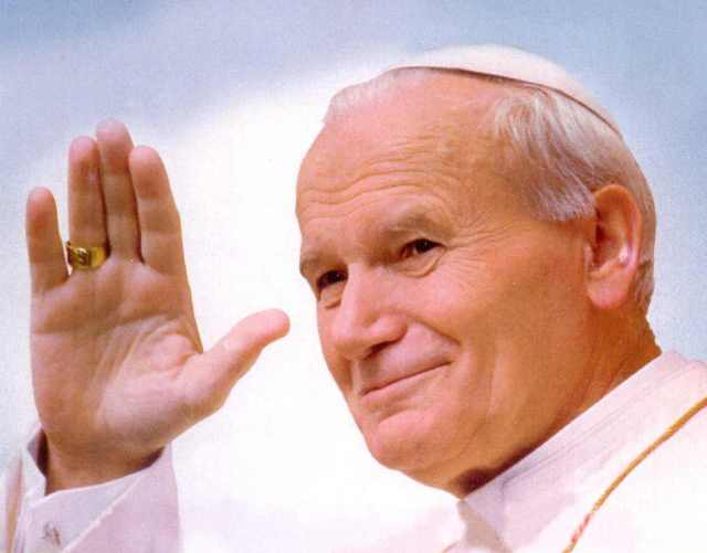 John Paul II.  Credit--Google Images.