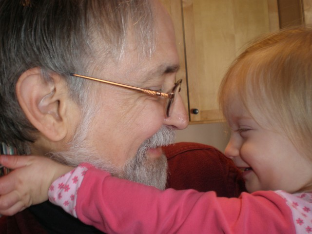 My Granddaughter Doesn't Mind My Wrinkles!