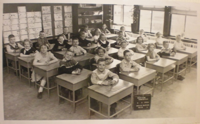 My 4th grade class.  Ten of us were at the reunion.