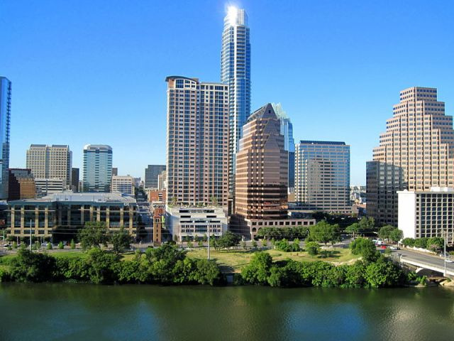 Austin, Texas, a city that is actively preparing to meet the needs of seniors.  Image: Wikimedia Commons