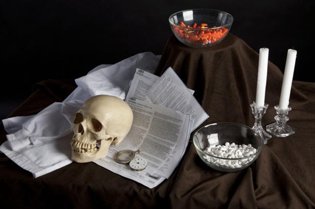 Prescription Vanitas, Skull