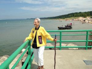 Mom at Pentwater