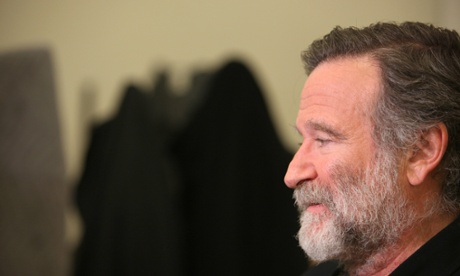 Robin Williams in 2011. Photo by Walter McBride/Corbis