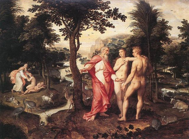 Garden of Eden, by Jacob de Backer.