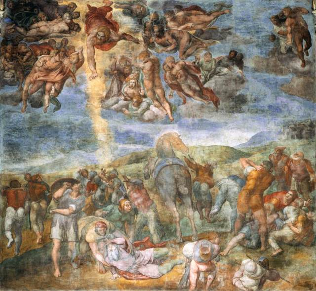 Michelangelo The conversion of Saul