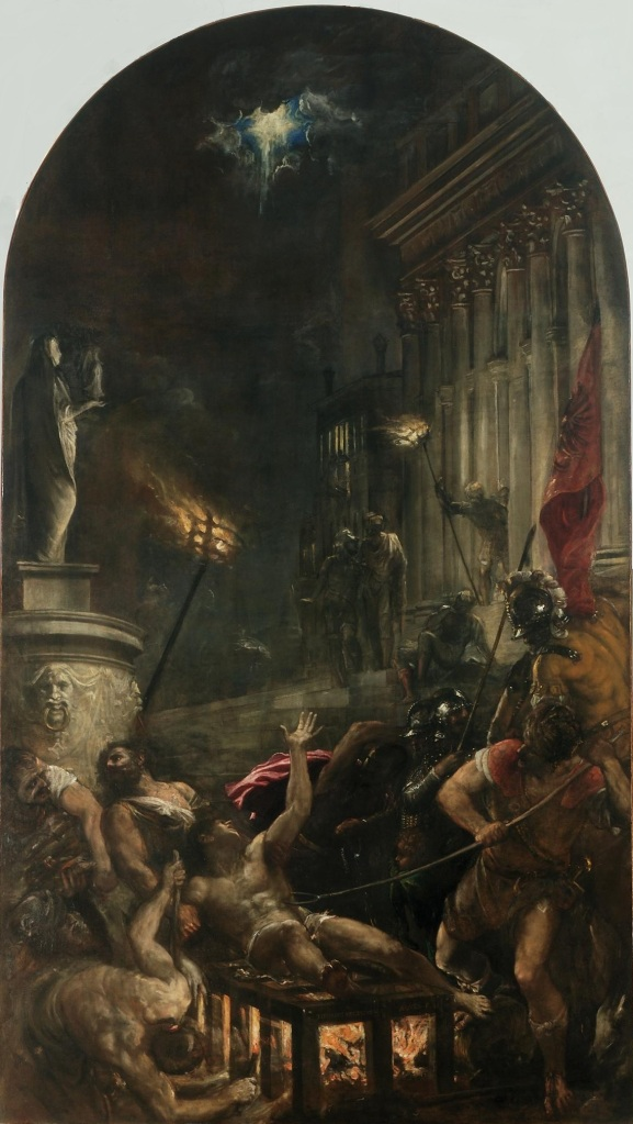 Tizian Martyrdom of Saint Lawrence