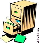 file cabinet CoolClips_busi0347
