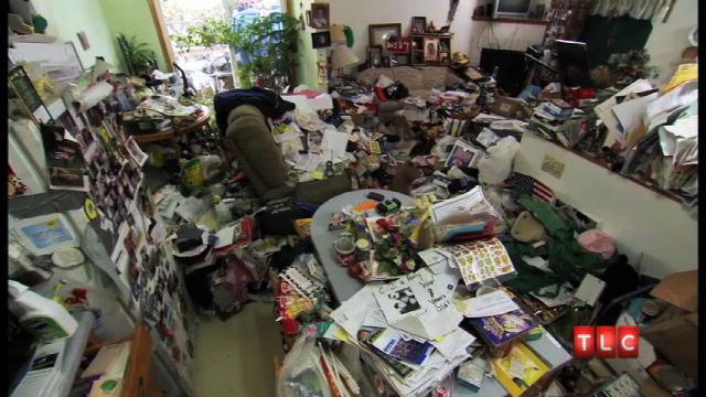Out-of-Control Accumulation. From the show Hoarding: Buried Alive.
