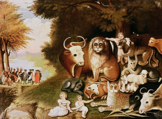 The Peaceable Kingdom, by Edward Hicks